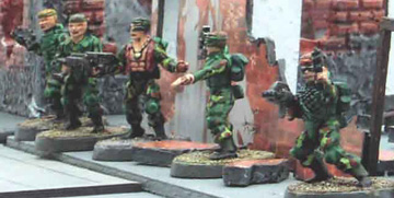 Plastic Gangers converted to Troopers